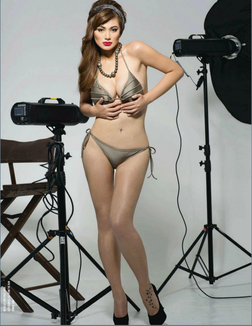 Francine Prieto on FHM January 2013 issue 2