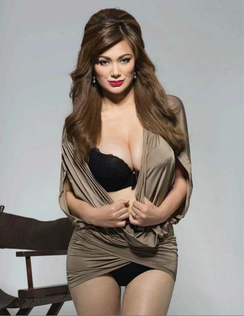 Francine Prieto on FHM January 2013 issue